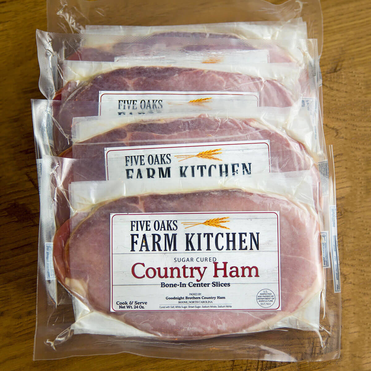 Country Ham: 24oz Packs