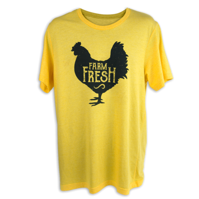 Farm Fresh Chicken Short Sleeve Shirt
