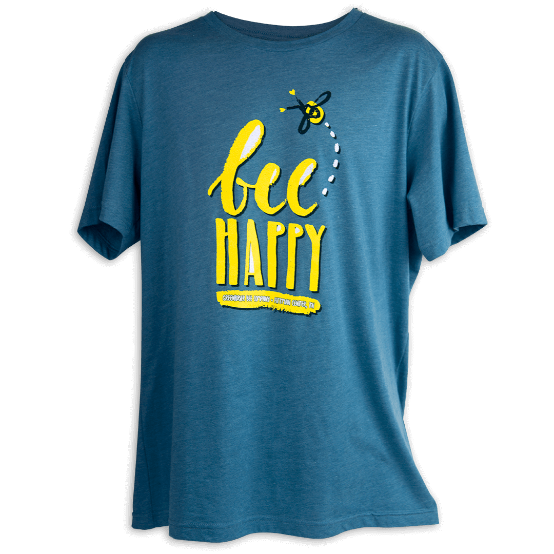 Bee Happy Short Sleeve Shirt