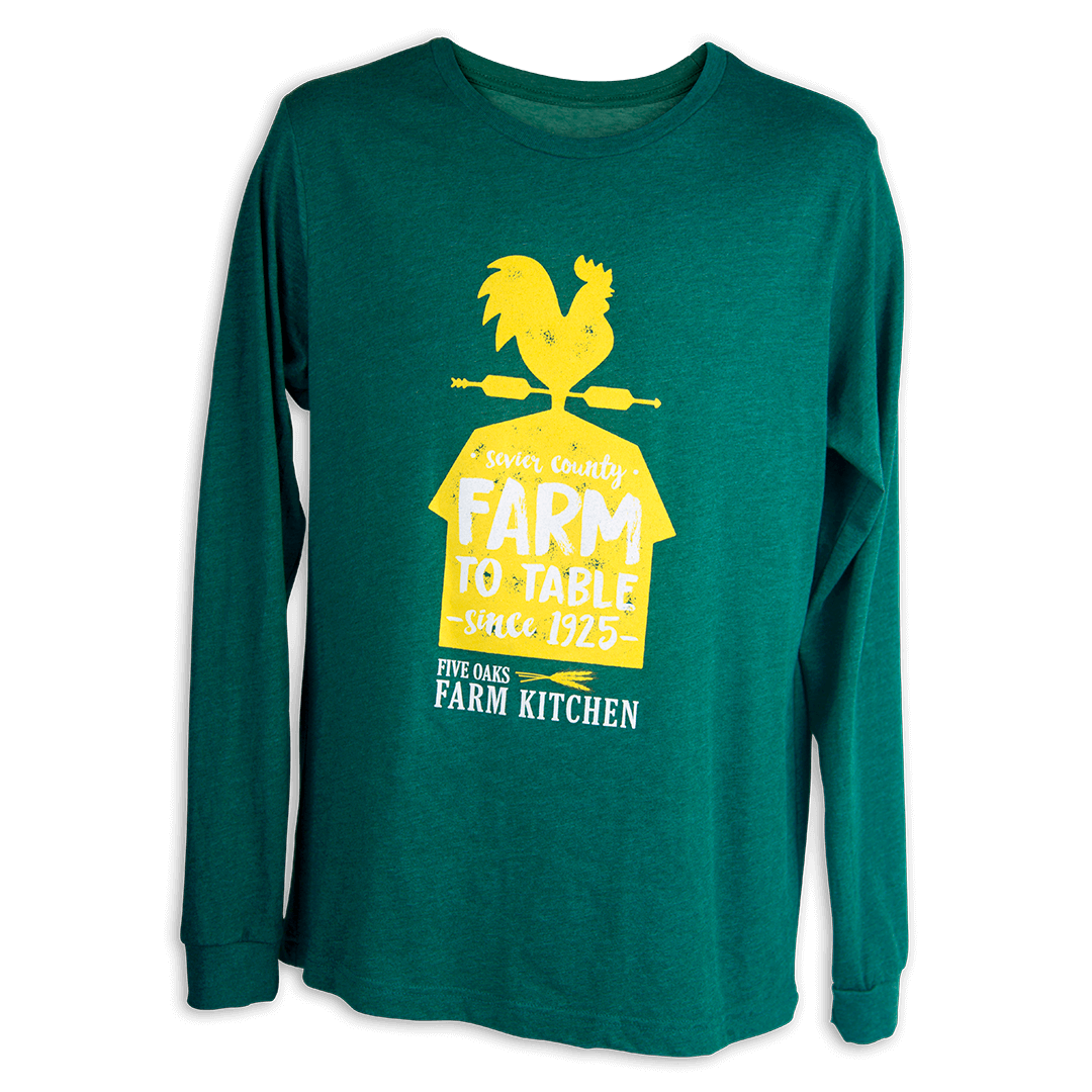 Support Your Local Farmer Long Sleeve Shirt 00139