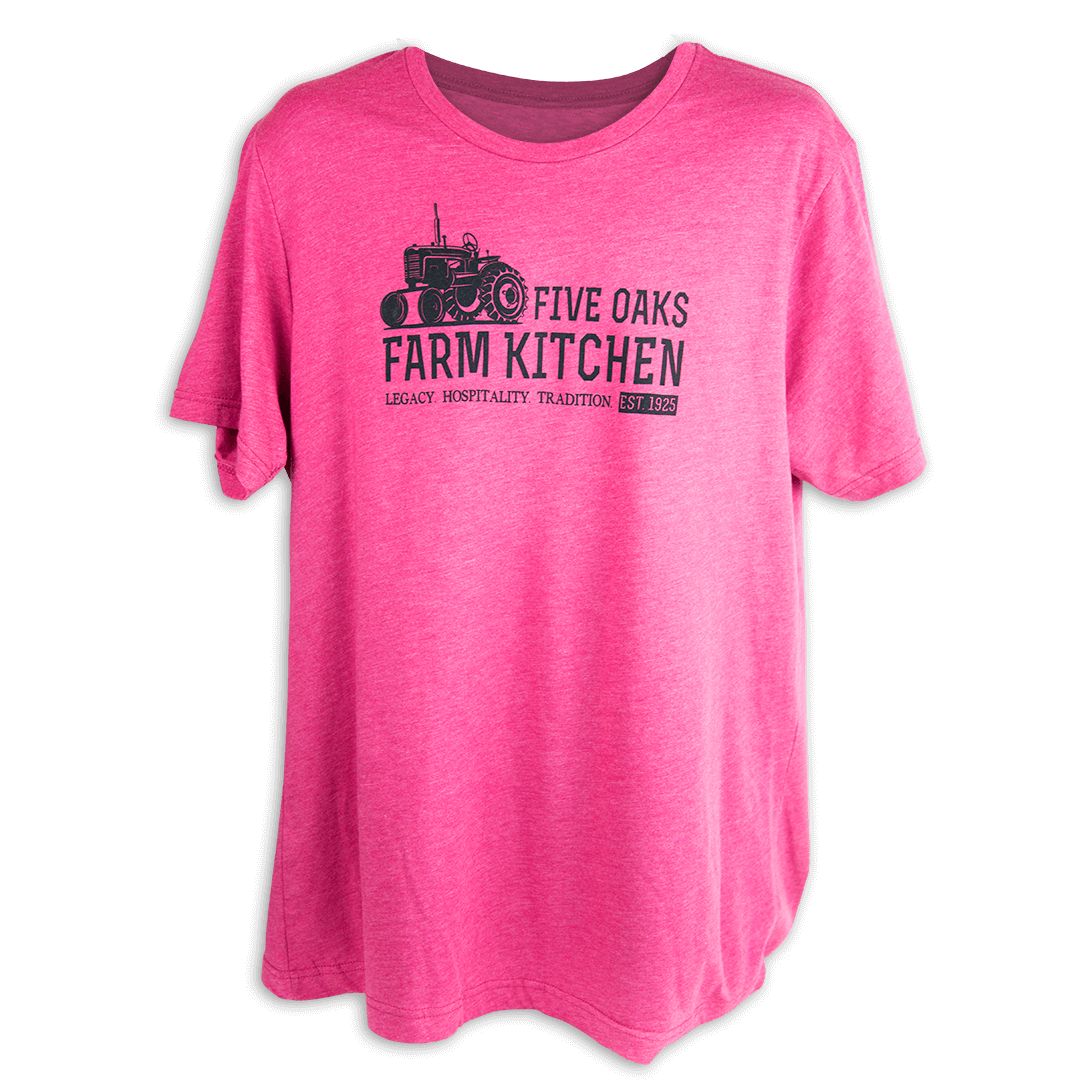 Tractor Five Oaks Farm Kitchen Short Sleeve Shirt