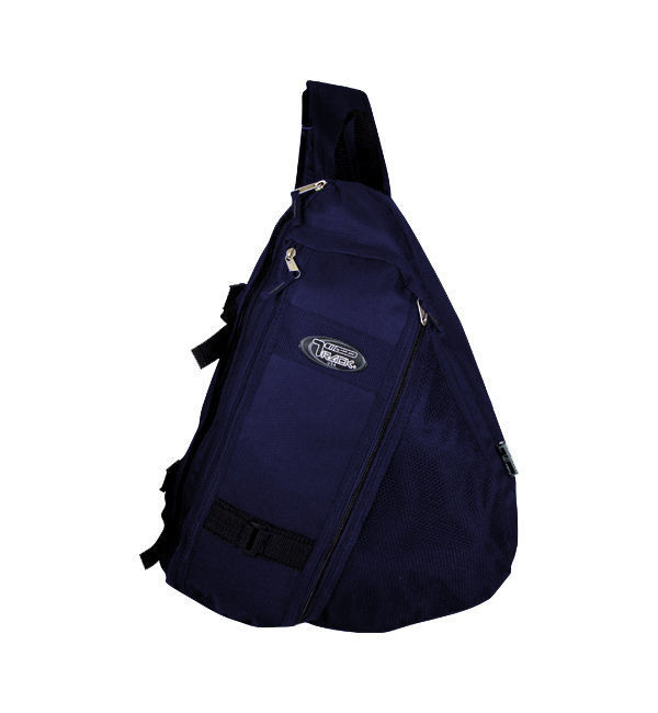 Messenger Sling Body Bag Backpack One Strap Navy TT303