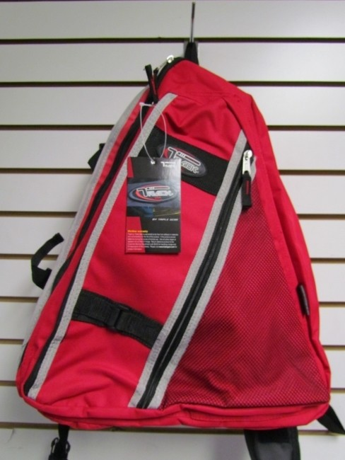 Red Messenger Sling Body Bag Backpack One Strap  TT303