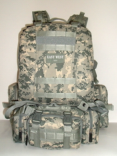 Military Molle Assault Tactical Backpack ACU Digital