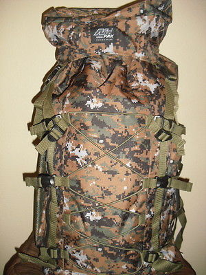 Extra Large Backpack  4300 Cu In - Brown Digital