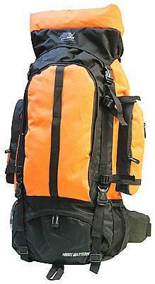 Extra Large Backpack  4700 Cu In - Orange- HB001
