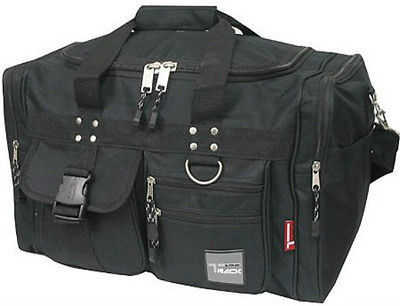 Small BLACK DUFFELBAG -  TD019 Gym Bag Carry On