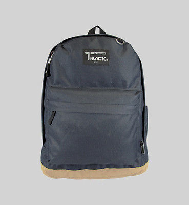 Black Backpack School Bag Pack For Day Trips TB201L