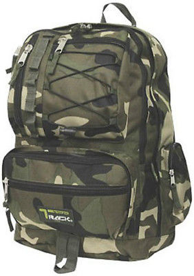 Tactical Camoflauge Backpack Rucksack School Pack Bag TB283