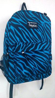 Blue Zebra  Backpack School Pack Bag TB205