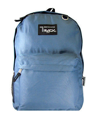 Sea Blue Backpack School Pack Bag TB205