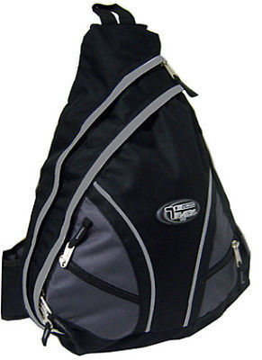 Messenger Sling Body Bag Backpack One Strap BLACK TT310