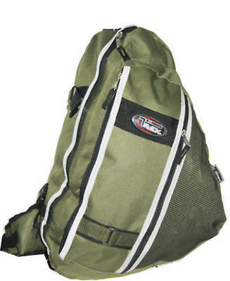 Messenger Sling Body Bag Backpack One Strap Olive TT303