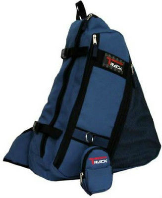 Messenger Sling Body Bag Backpack One Strap Royal Blue TT303