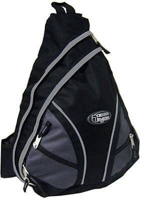 Messenger Sling Body Bag Backpack One Strap BLACK TT310