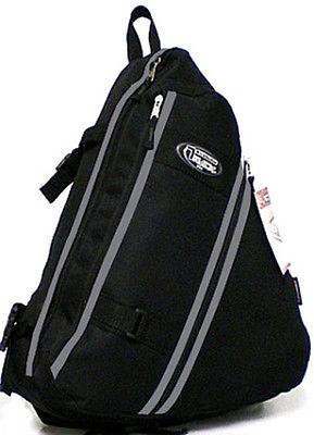 Messenger Sling Body Bag Backpack One Strap BLACK TT303