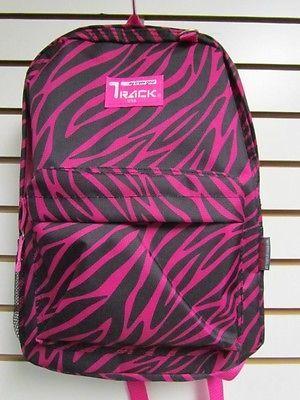 Pink Zebra Backpack  School Pack Bag TB205
