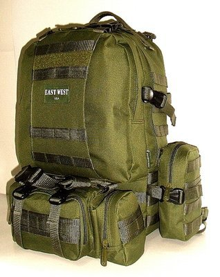 Military Molle Assault Tactical Backpack  Olive RT-508