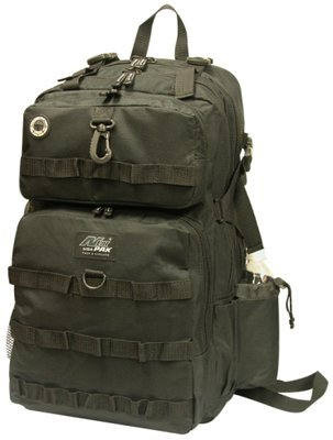 TACTICAL Black Backpack -DP321