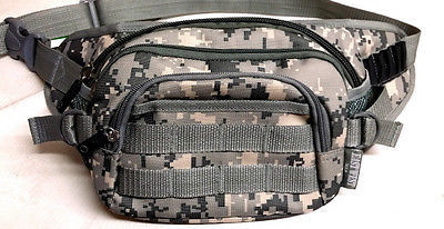 Fanny Pack Tactical Large Hip Belt Bum Bag Pouch - ACU Digital