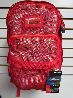 Red Mesh Backpack See Through