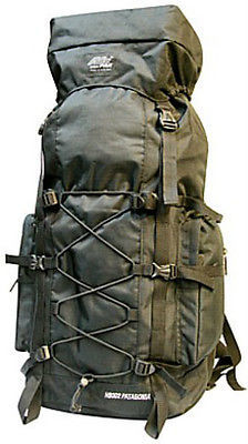 Extra Large Backpack  4300 Cu In -BLACK