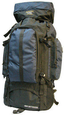 Extra Large Backpack  4700 Cu In - Navy- HB001