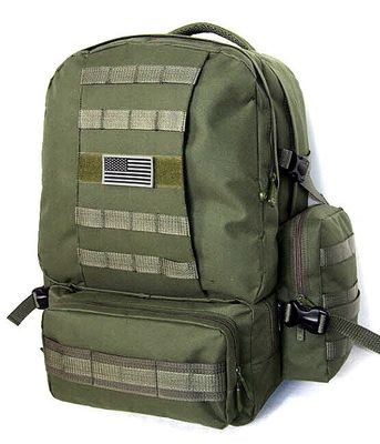 Military-Molle-Assault-Tactical-Backpack-OLIVE-Large-Rucksack-Backpack-RT-508