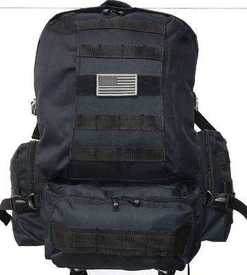 Military-Molle-Assault-Tactical-Backpack-Black-Large-Rucksack-Backpack-RT-508
