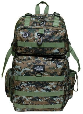 TACTICAL Brown/Green  Digital Backpack -DP321