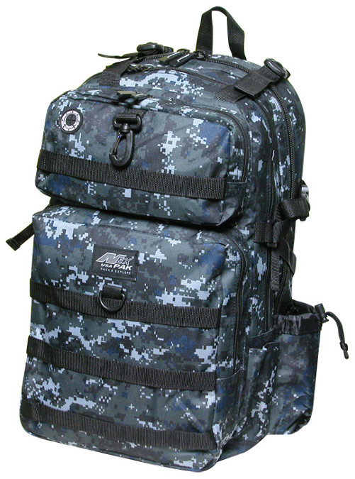 TACTICAL Black Digital Backpack -DP321