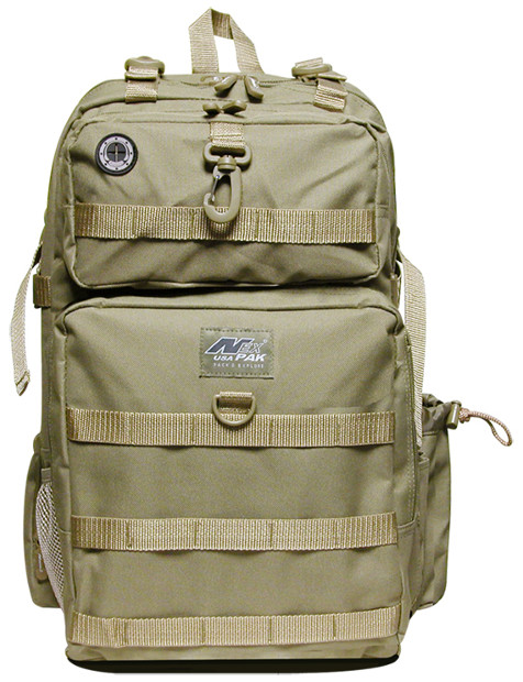 TACTICAL Tan Backpack -DP321