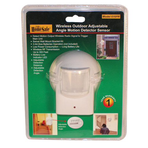 ​The OUTDOOR HOMESAFE WIRELESS HOME SECURITY MOTION SENSOR