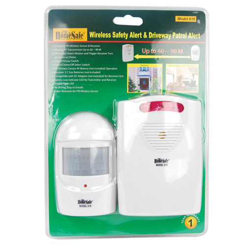 Driveway and Motion Stand Alone Wireless Safety Alarm