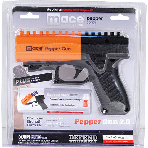 Mace® Brand Pepper Gun® 2.0