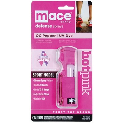 Pink Pepper Spray Jogger model