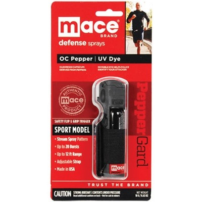 Pepper Spray Jogger model Black