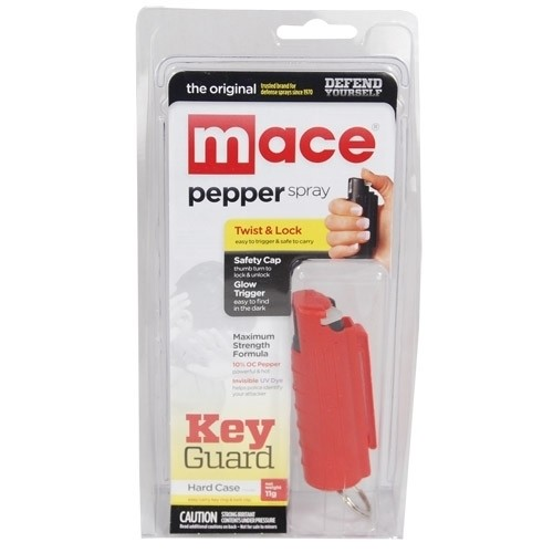 Mace® Pepper Spray Hard Case - Red