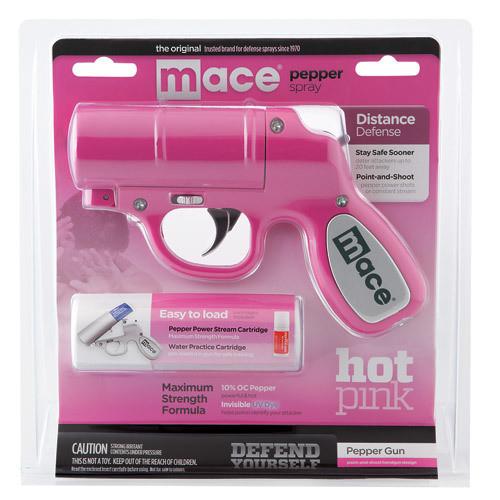 Pink Mace® Pepper Gun