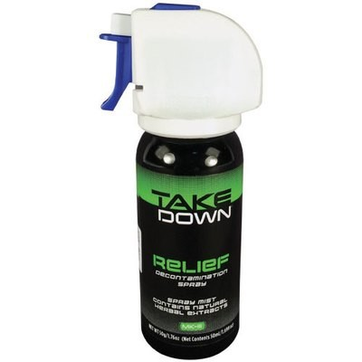 Take Down OC Relief Decontamination Spray