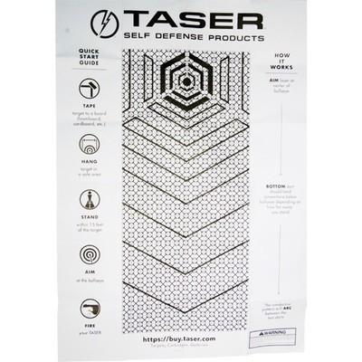 Taser Practice Target