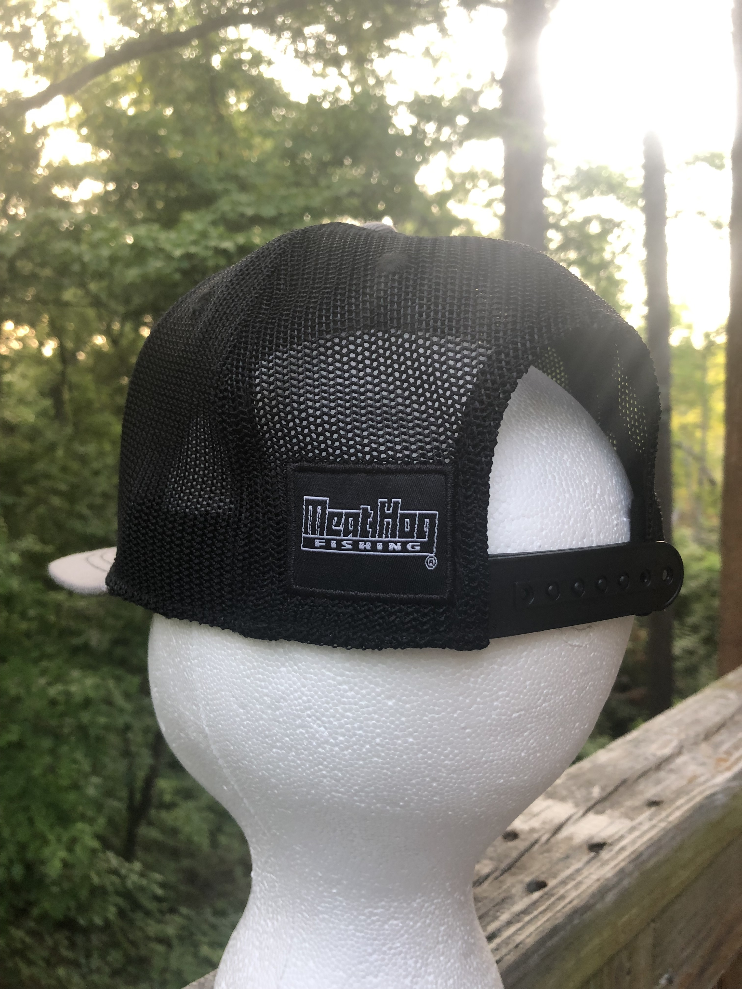 Meat Hog Leather patch hat