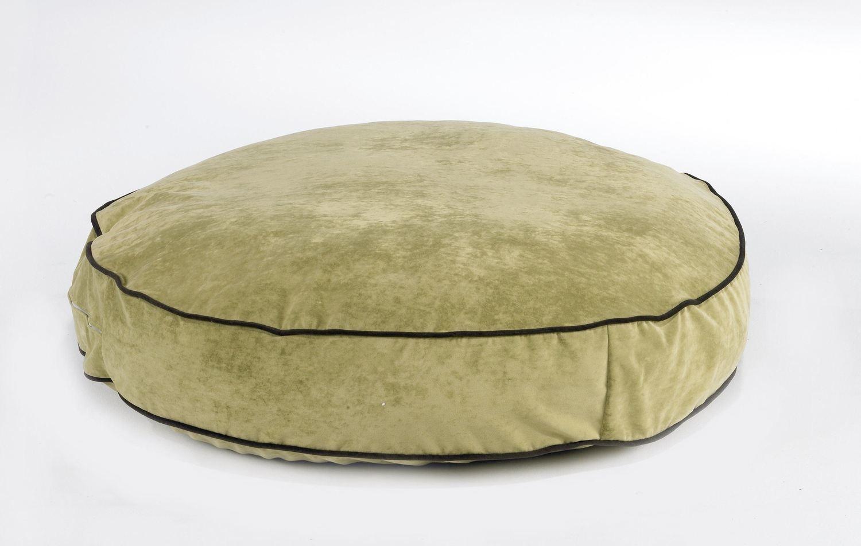 Brilliant Super Soft Round Pet Bed Celery Squirreltailoven Fun Painted Chair Ideas Images Squirreltailovenorg