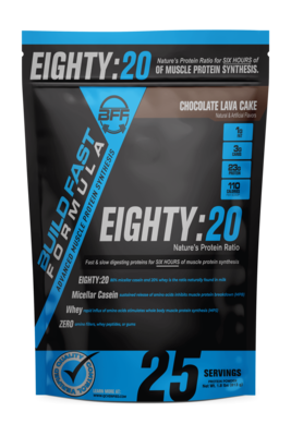Build Fast Formula Eighty 20 Protein