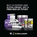 The Cellucor Ripped Joy Stack 3 Products