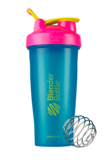 Blender Bottle 28 oz Color of the Month 80s Throwback May