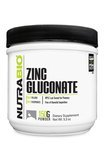 NutraBio Zinc Gluconate Powder 150 Grams