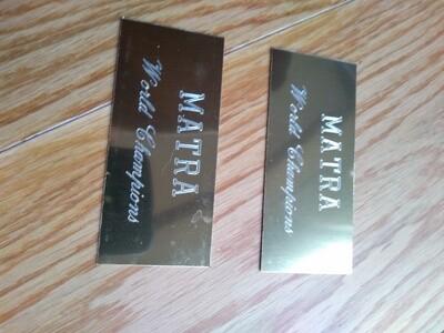Matra World Champions Matra Gold (Pair)