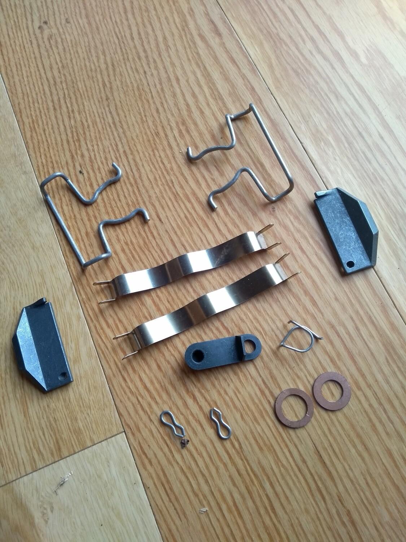 Rear Brake Wedge and Spring Kit