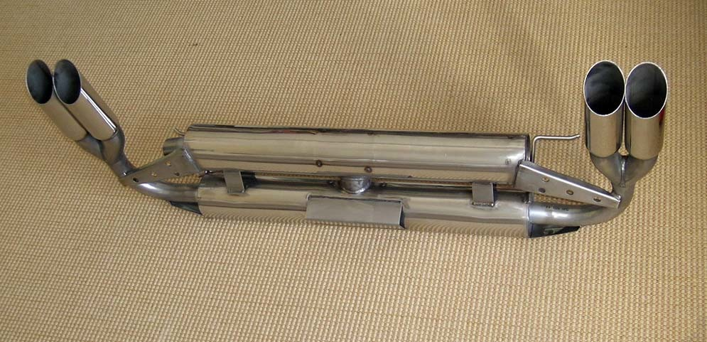 Stainless Silencer Murena 2.2 Quad Outlet SA6994